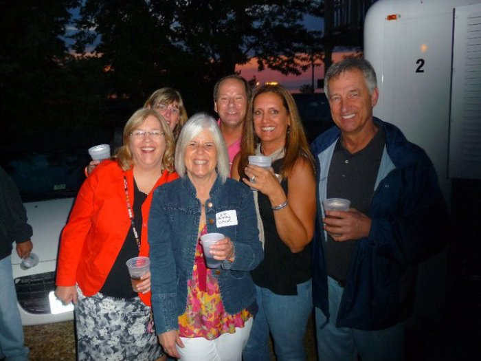 Martha, Lisa, Me, Randy, Rosie and Bubba at the YHS Spring Mixer