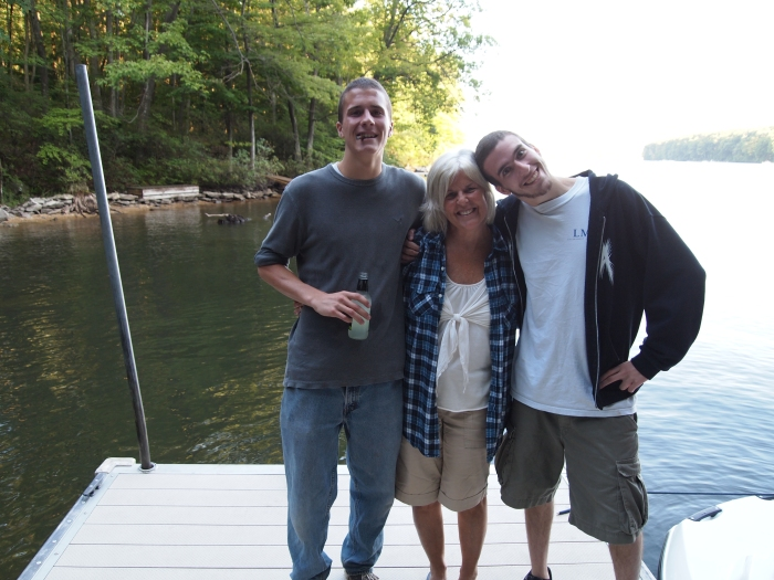 Adam, me and Alex
