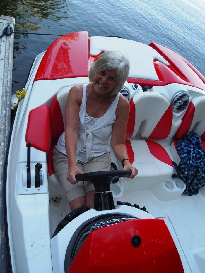 what a poser ~ I don't drive boats!