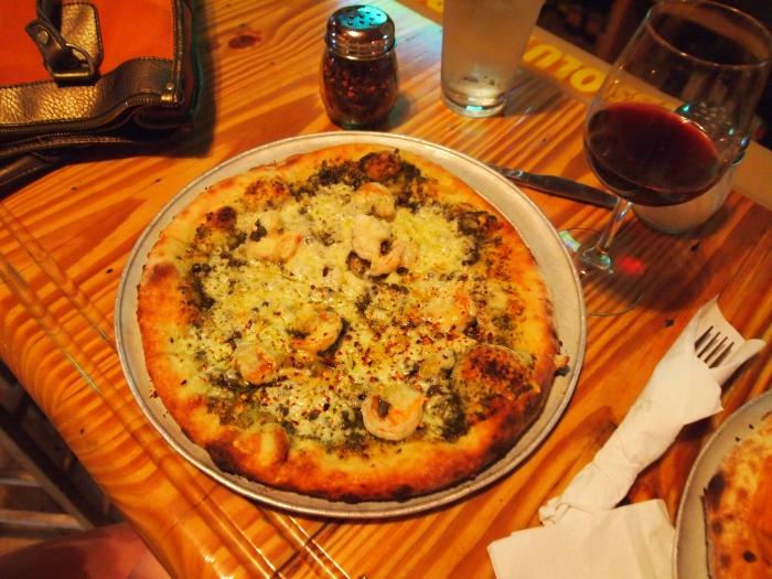 Shrimp Pesto Pie