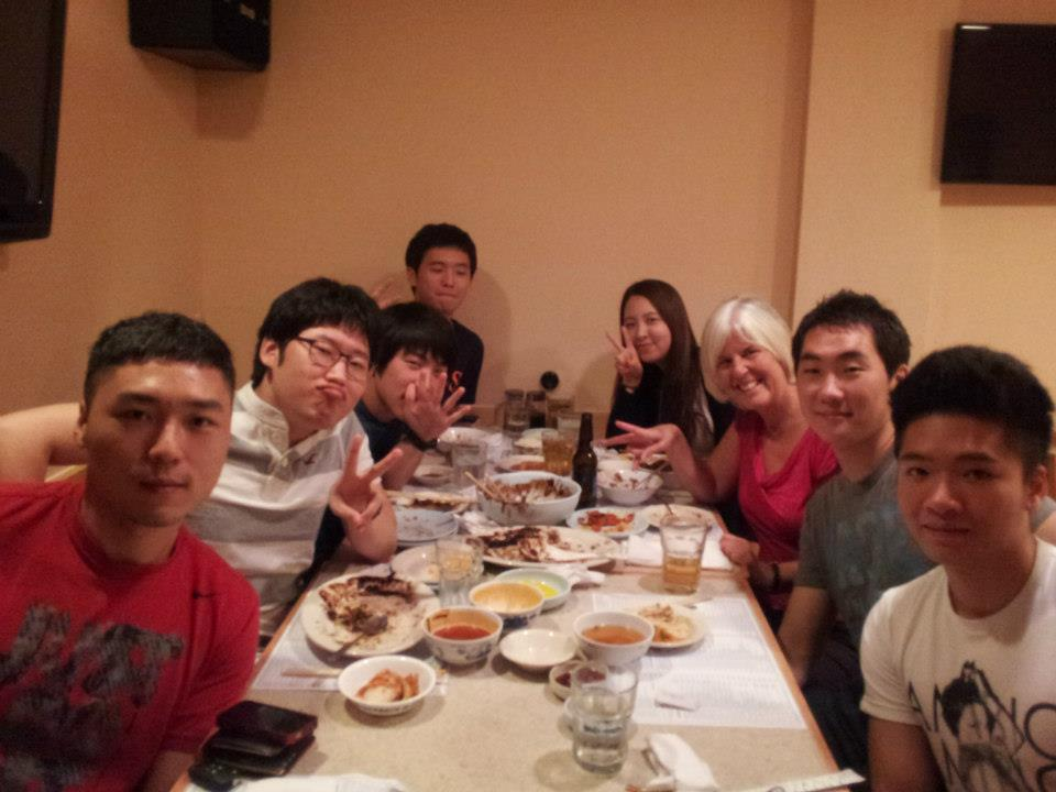 reliving korea: dinner & noraebang with my former esl students (2/3)
