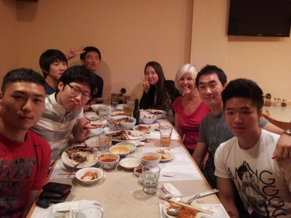 reliving korea: dinner & noraebang with my former esl students (1/3)