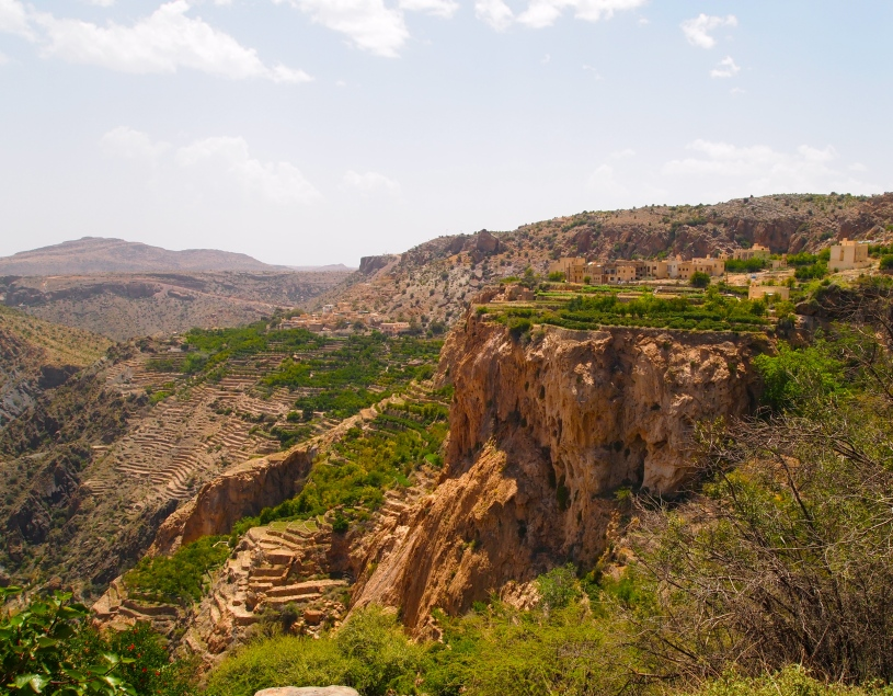 "Jebel Akhdar.  Right now it's ""from a distance,"" but in a short time, it will be up close and personal!"