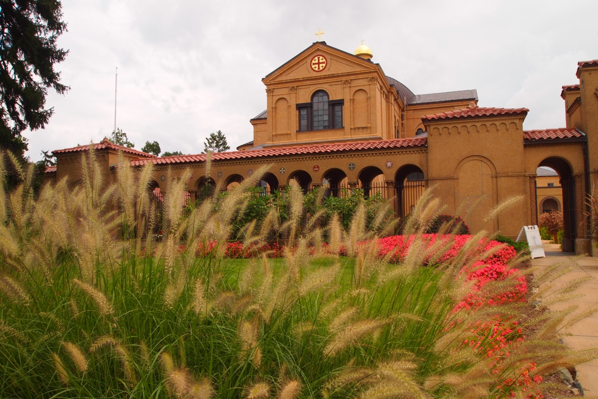 The franciscan monastery in washington gardens shrines for The franciscan