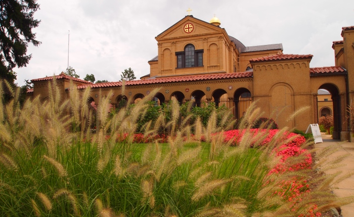the franciscan monastery in washington: gardens & shrines