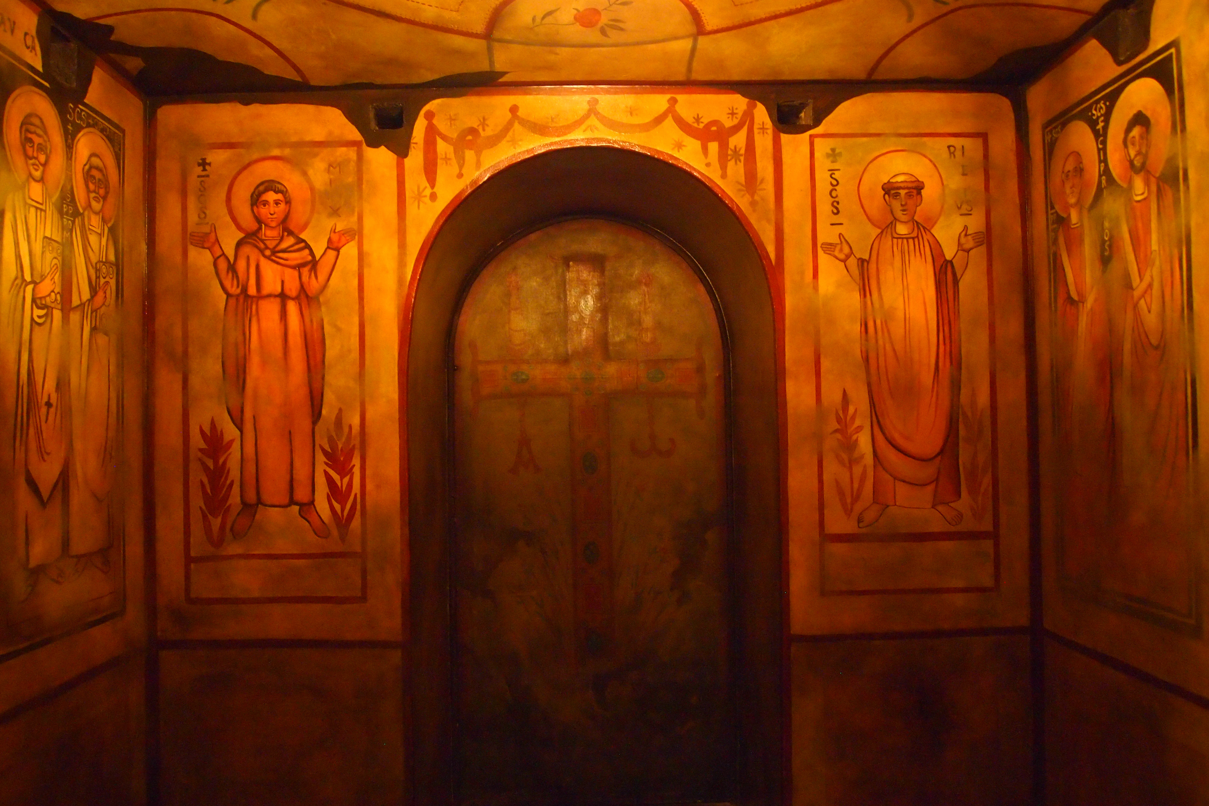 Catacombs crypts of the franciscan monastery nomad for The franciscan