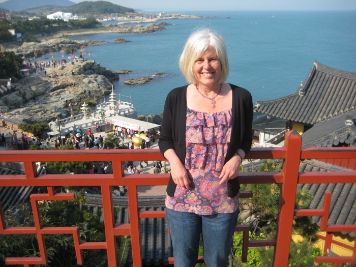 me in Busan, South Korea, April 2010