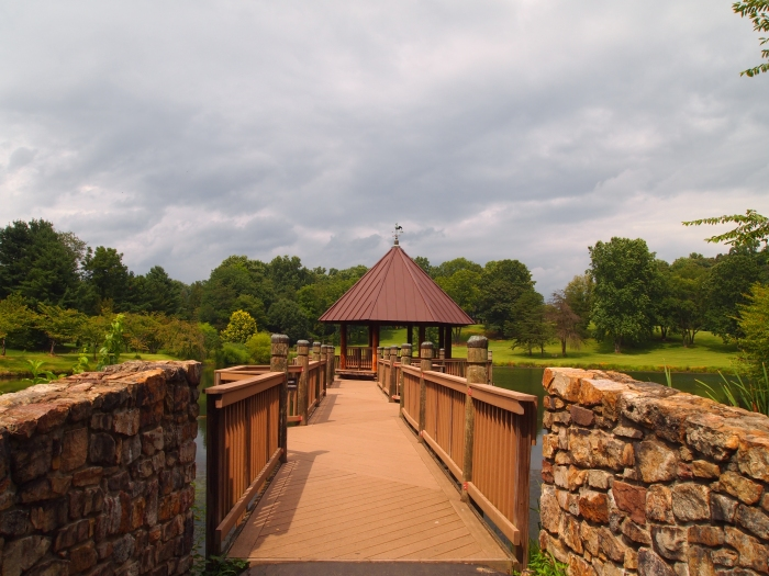 walkway to the gazebo