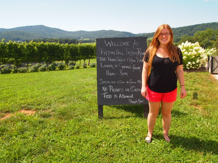 Sarah at Pippin Hill Farm & Vineyards