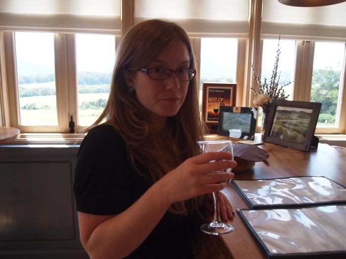Sarah ~ wine tasting