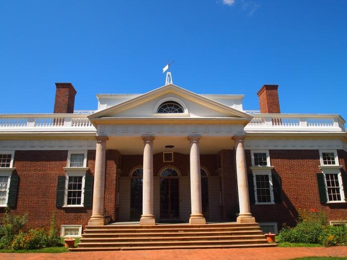 Entering Monticello