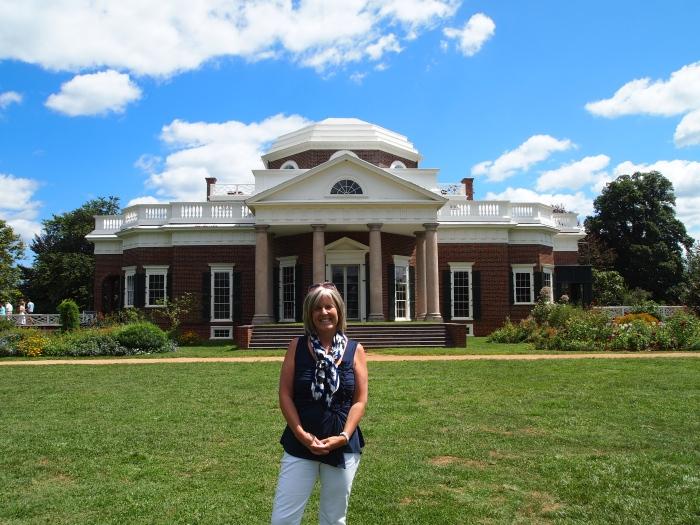 me at Monticello