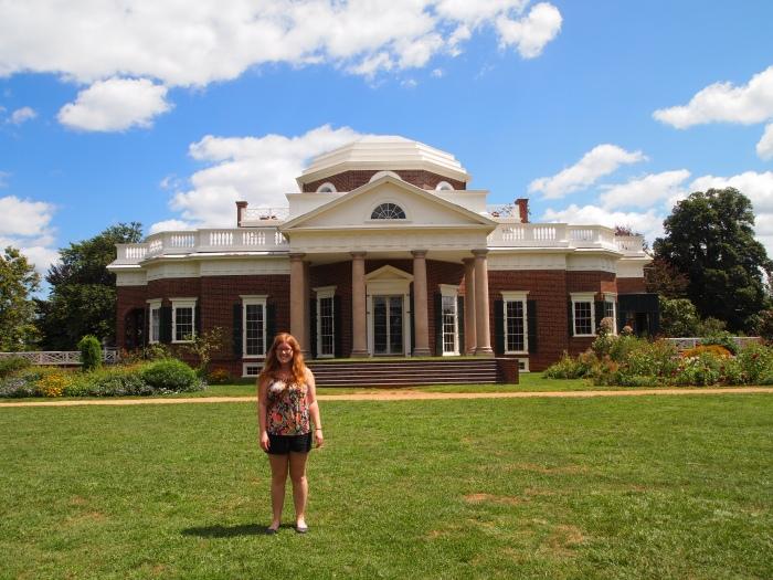 Sarah at Monticello