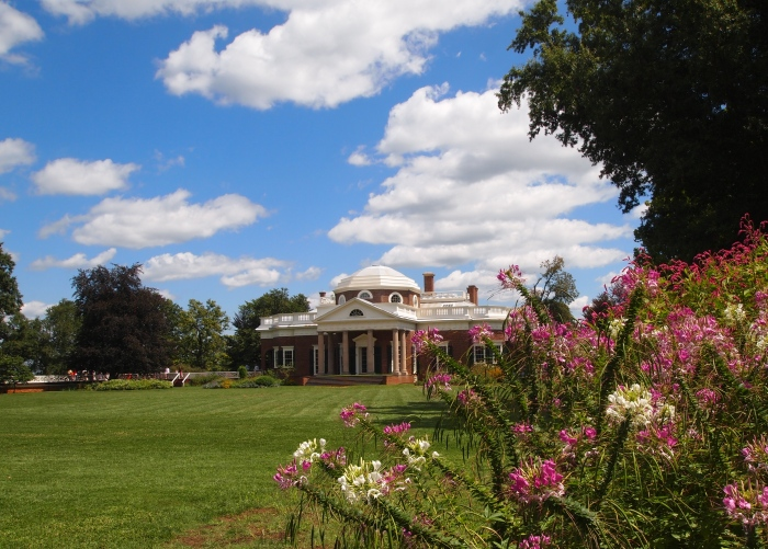 Monticello from the lawn
