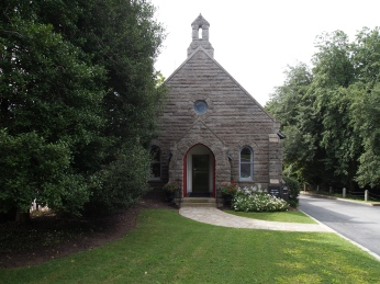 The chapel at Hollywood Cemetery