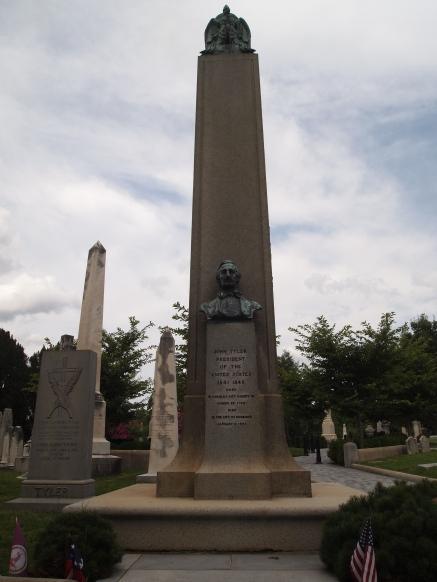 John Tyler (10th U.S. President) is buried here