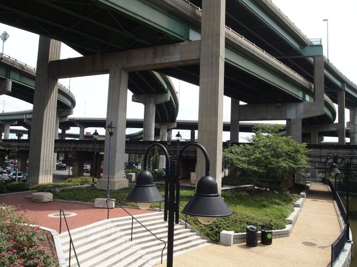 Under Richmond's convoluted highways
