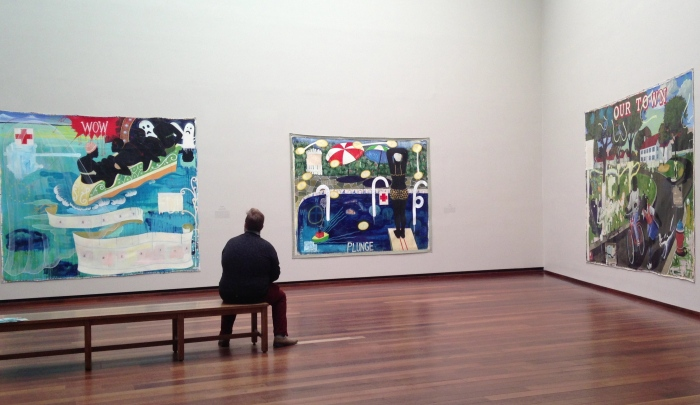"In The Tower: Kerry James Marshall ~ ""artwatching"" :-)"