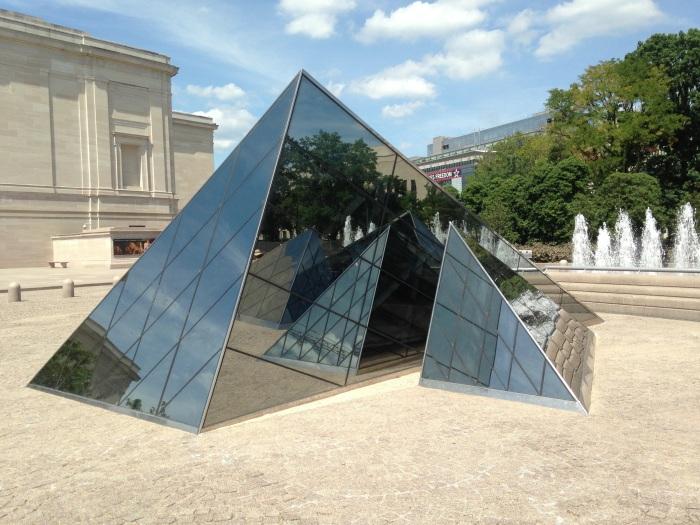 more mini pyramids