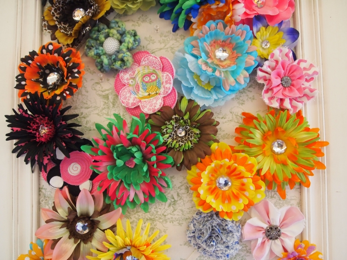 bouquets of colorful cupcake liners