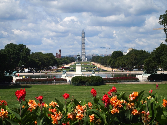 the Mall and the Washington Monument