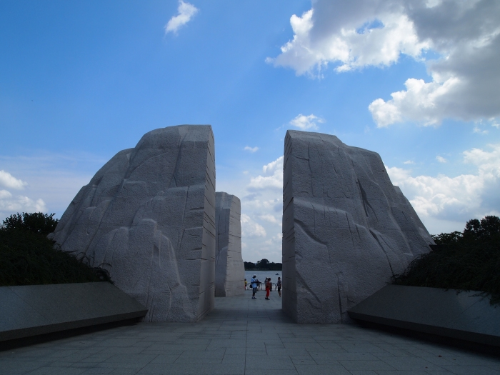 entrance to the Martin Luther King, Jr. Memorial