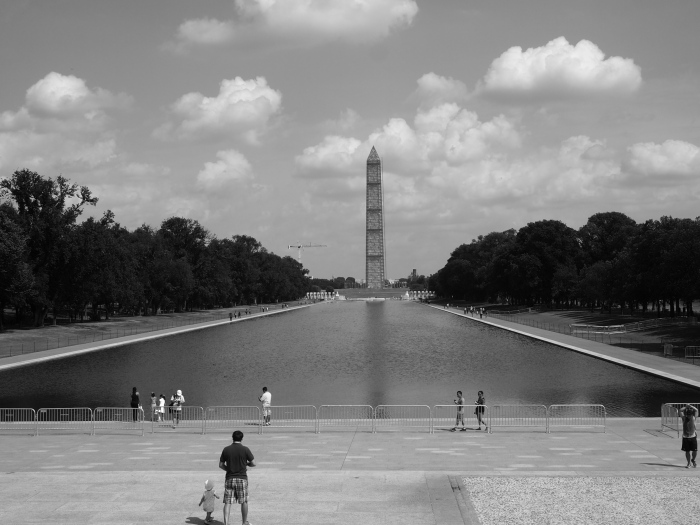 The Reflecting Pool and the Washington Monument today