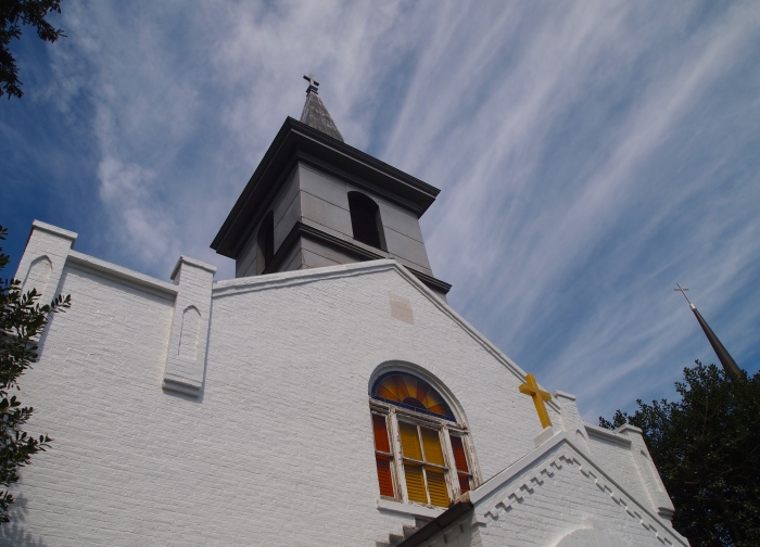 St. Mary's Church in Rockville, final resting place of F. Scott and Zelda Fitzgerald