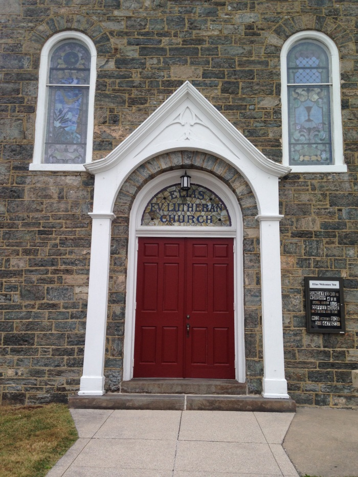 Door in Emmitsburg