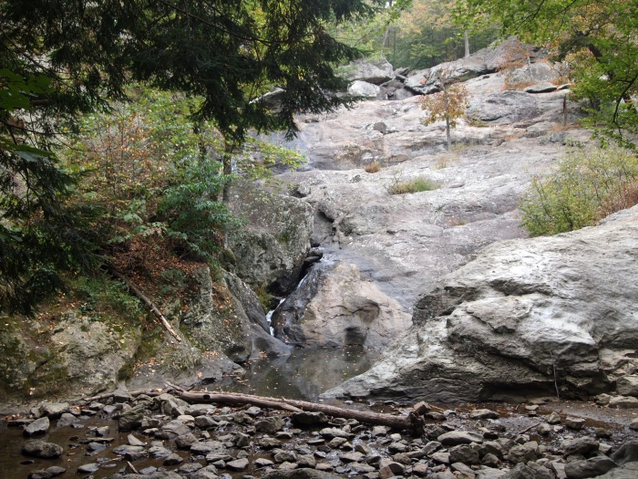 waterfall at Cunningham Falls State Park