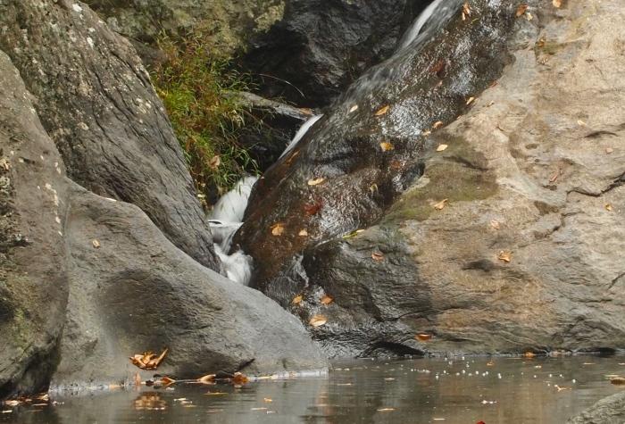 waterfall taken with tripod