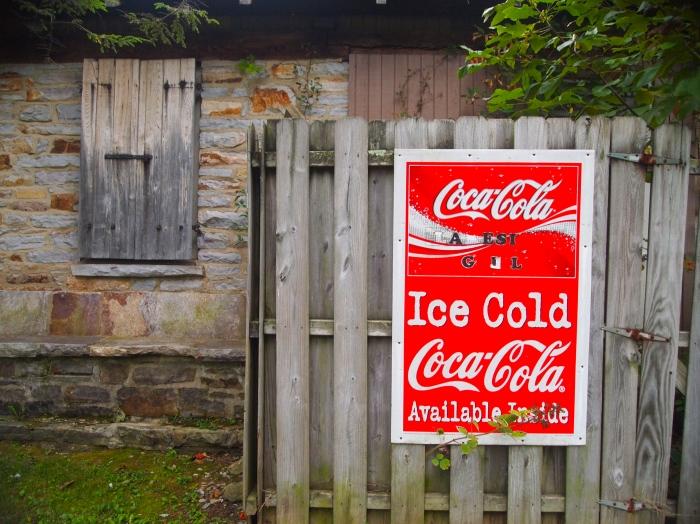 Ice cold Coca-Cola