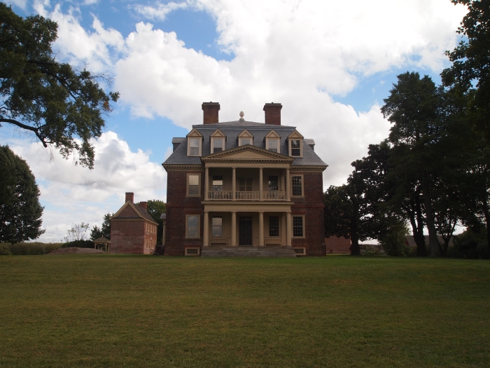 Shirley Plantation from the James River side