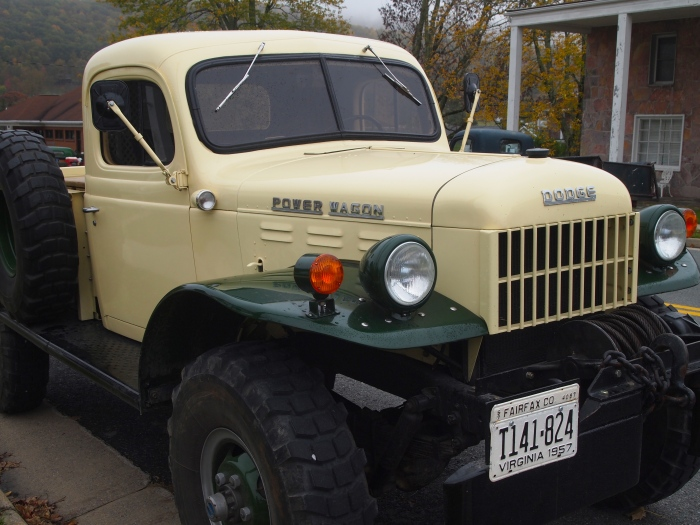 Dodge Power Wagon at the Monterey Crafts Festival