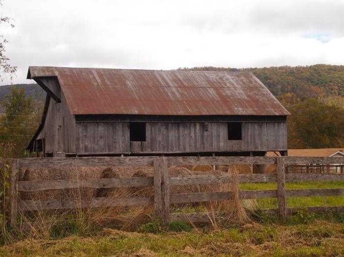 a barn being a barn