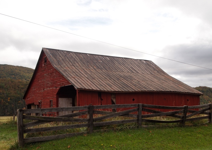 another barn being a barn