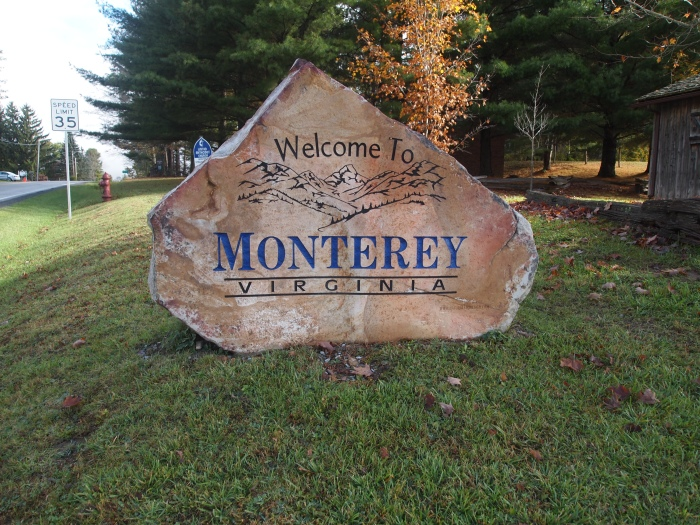 Welcome to Monterey, and farewell!