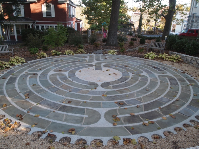 Labyrinth at R.E. Lee Memorial Church