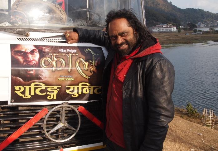 Nepali actor Sagar Ansari