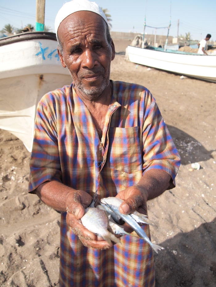 Fisherman at Al Musaanah