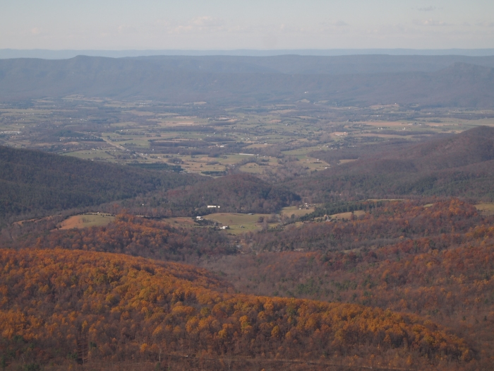 the valley from Mary's Rock