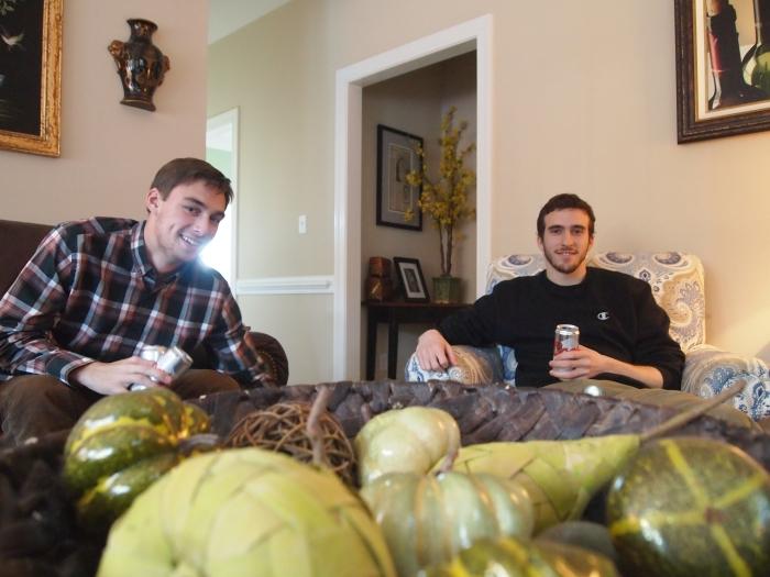 Seth and Alex
