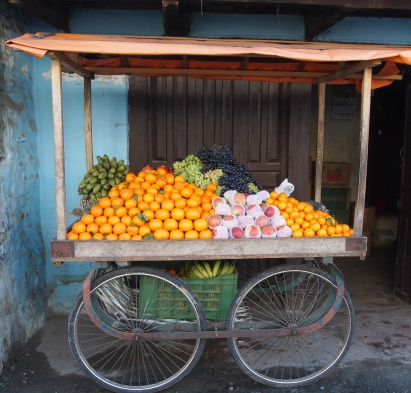 citrus for sale in Pokhara, Nepal