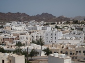 Muscat from the hill to Al Amerat