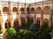 Monastery of San Juan de los Reyes cloisters in Toledo