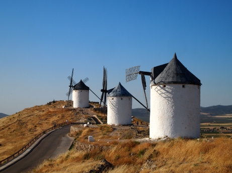 Windmills in Consuegra
