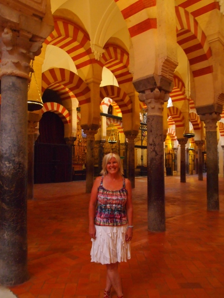 me at the Mezquita in Cordoba