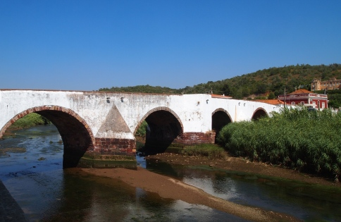 Roman bridge in Silves