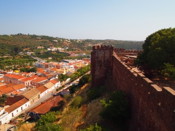 from the fort in Silves