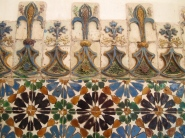 Tiles inside National Palace of Sintra